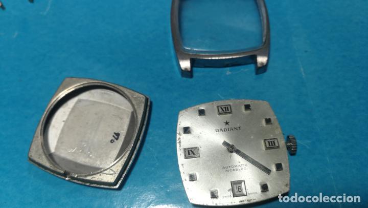 Recambios de relojes: Lote de 6 relojes automaticos para reparar o piezas, aunque parecen quieren andar - Foto 33 - 138985938