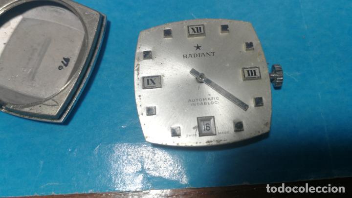 Recambios de relojes: Lote de 6 relojes automaticos para reparar o piezas, aunque parecen quieren andar - Foto 34 - 138985938