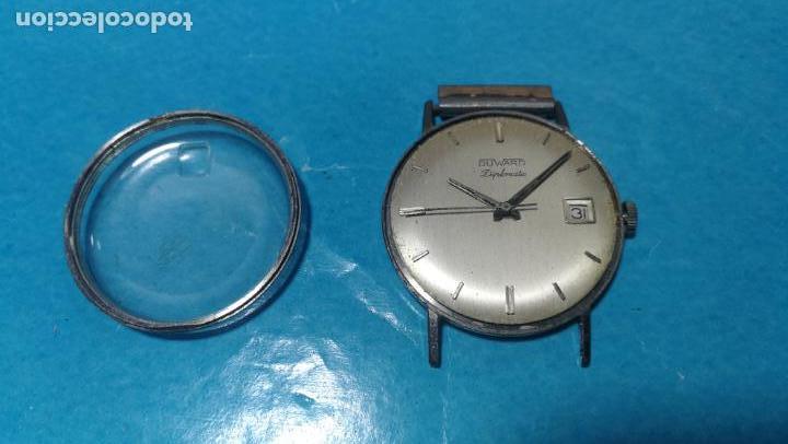 Recambios de relojes: Lote de 6 relojes automaticos para reparar o piezas, aunque parecen quieren andar - Foto 44 - 138985938