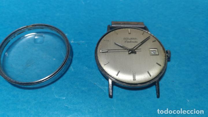 Recambios de relojes: Lote de 6 relojes automaticos para reparar o piezas, aunque parecen quieren andar - Foto 45 - 138985938