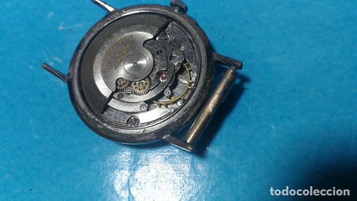 Recambios de relojes: Lote de 6 relojes automaticos para reparar o piezas, aunque parecen quieren andar - Foto 47 - 138985938