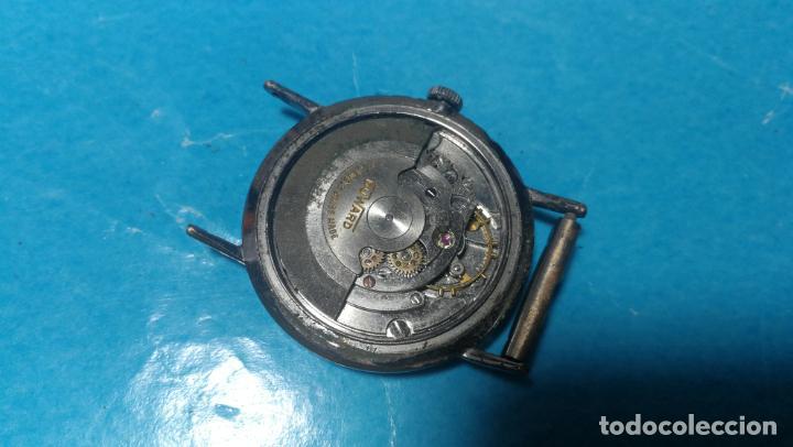 Recambios de relojes: Lote de 6 relojes automaticos para reparar o piezas, aunque parecen quieren andar - Foto 49 - 138985938