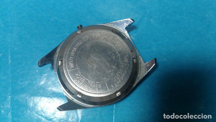 Recambios de relojes: Lote de 6 relojes automaticos para reparar o piezas, aunque parecen quieren andar - Foto 51 - 138985938