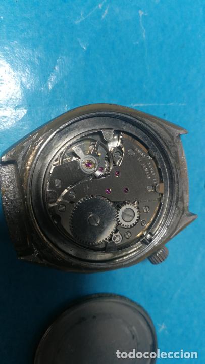 Recambios de relojes: Lote de 6 relojes a cuerda, 4 para ajustar marcha y 2 para reparar o piezas - Foto 15 - 138992038