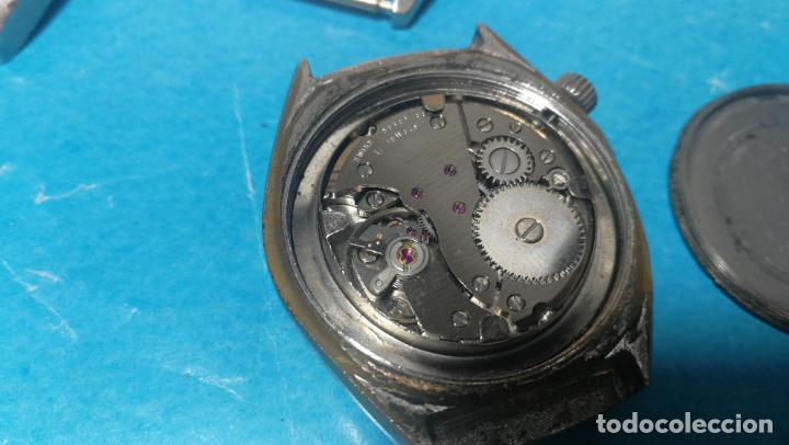Recambios de relojes: Lote de 6 relojes a cuerda, 4 para ajustar marcha y 2 para reparar o piezas - Foto 16 - 138992038
