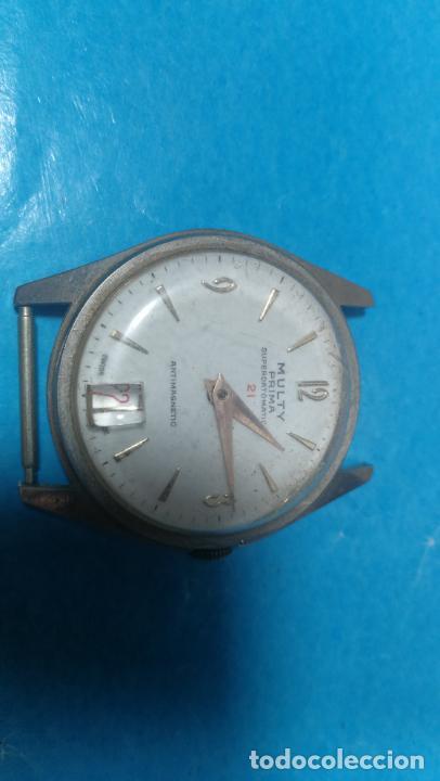 Recambios de relojes: Lote de 6 relojes a cuerda, 4 para ajustar marcha y 2 para reparar o piezas - Foto 18 - 138992038
