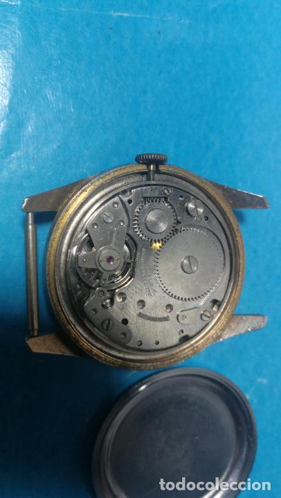 Recambios de relojes: Lote de 6 relojes a cuerda, 4 para ajustar marcha y 2 para reparar o piezas - Foto 19 - 138992038