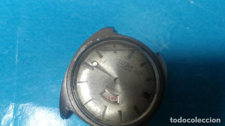 Recambios de relojes: Lote de 6 relojes a cuerda, 4 para ajustar marcha y 2 para reparar o piezas - Foto 21 - 138992038