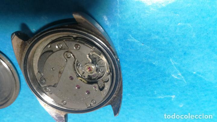 Recambios de relojes: Lote de 6 relojes a cuerda, 4 para ajustar marcha y 2 para reparar o piezas - Foto 23 - 138992038