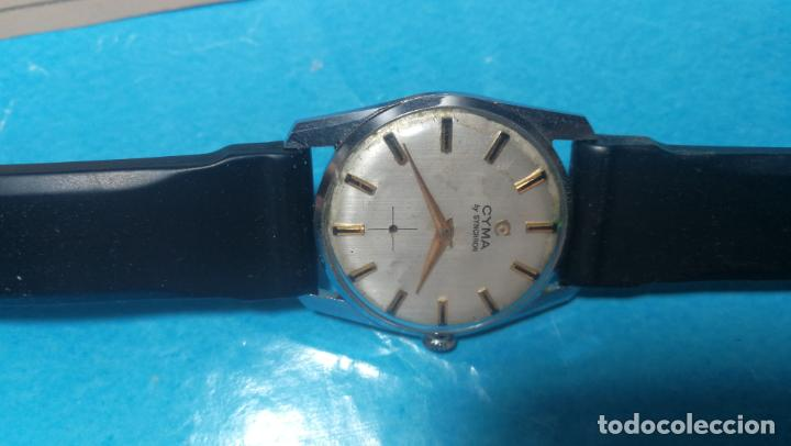 Recambios de relojes: RELOJ CYMA R-458, aunque funciona, atrasa, por tanto para reparar o restaurar - Foto 4 - 138997018