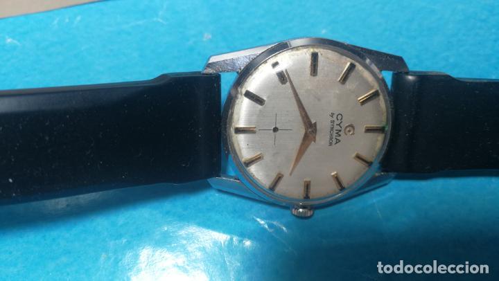 Recambios de relojes: RELOJ CYMA R-458, aunque funciona, atrasa, por tanto para reparar o restaurar - Foto 5 - 138997018