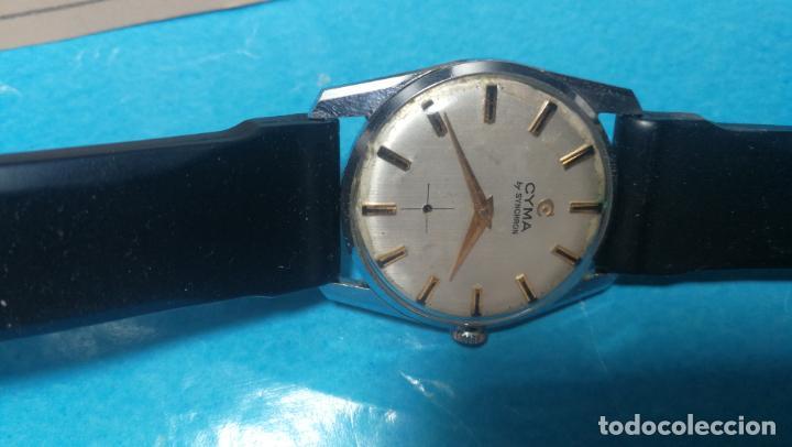 Recambios de relojes: RELOJ CYMA R-458, aunque funciona, atrasa, por tanto para reparar o restaurar - Foto 6 - 138997018