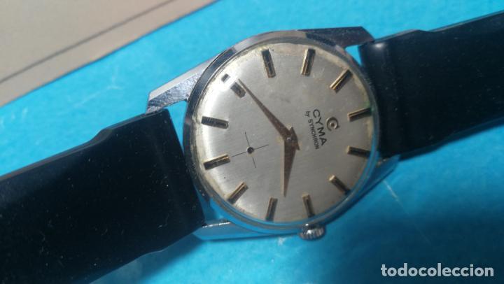 Recambios de relojes: RELOJ CYMA R-458, aunque funciona, atrasa, por tanto para reparar o restaurar - Foto 7 - 138997018