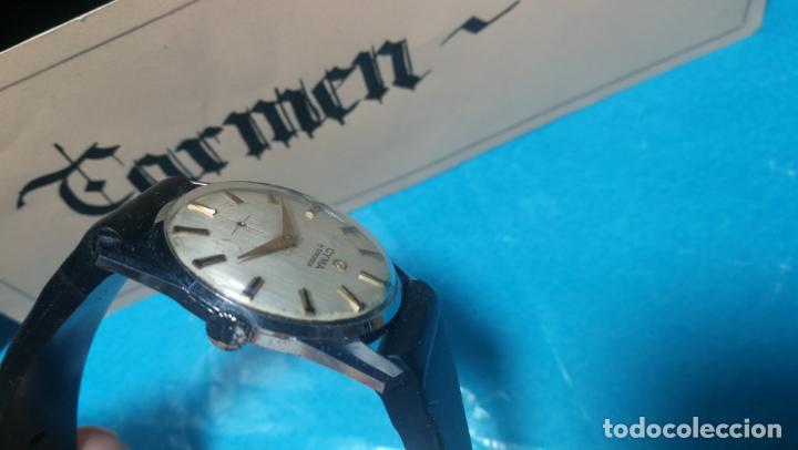 Recambios de relojes: RELOJ CYMA R-458, aunque funciona, atrasa, por tanto para reparar o restaurar - Foto 13 - 138997018