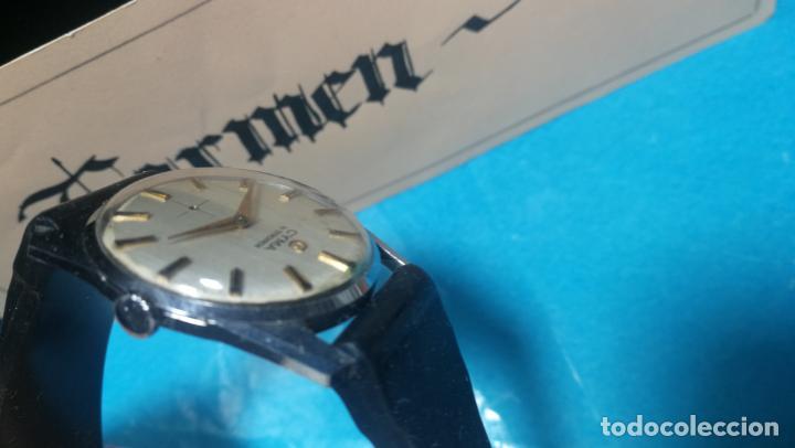 Recambios de relojes: RELOJ CYMA R-458, aunque funciona, atrasa, por tanto para reparar o restaurar - Foto 14 - 138997018