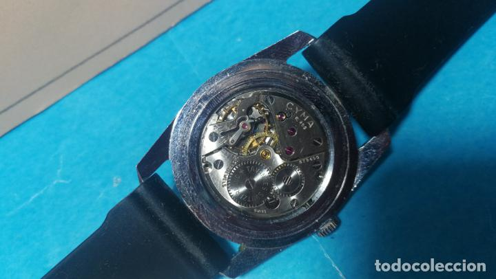 Recambios de relojes: RELOJ CYMA R-458, aunque funciona, atrasa, por tanto para reparar o restaurar - Foto 23 - 138997018