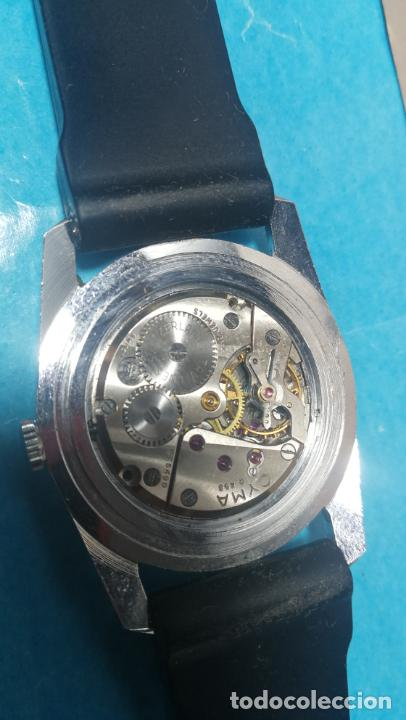 Recambios de relojes: RELOJ CYMA R-458, aunque funciona, atrasa, por tanto para reparar o restaurar - Foto 24 - 138997018