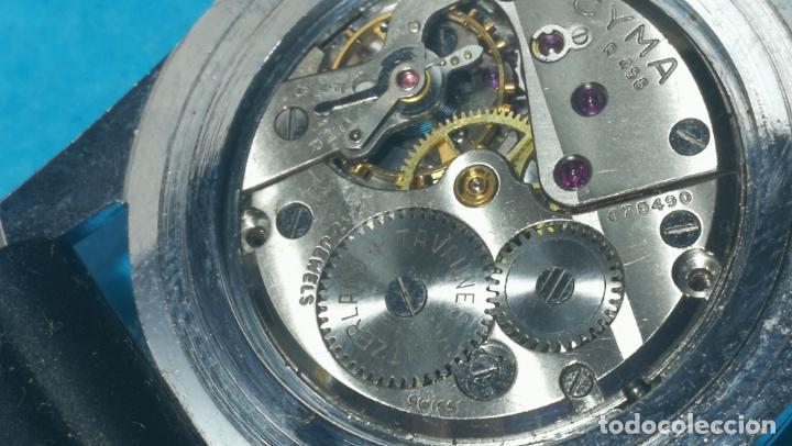 Recambios de relojes: RELOJ CYMA R-458, aunque funciona, atrasa, por tanto para reparar o restaurar - Foto 26 - 138997018