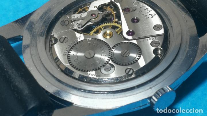 Recambios de relojes: RELOJ CYMA R-458, aunque funciona, atrasa, por tanto para reparar o restaurar - Foto 28 - 138997018