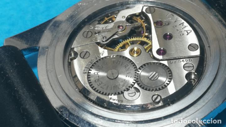 Recambios de relojes: RELOJ CYMA R-458, aunque funciona, atrasa, por tanto para reparar o restaurar - Foto 29 - 138997018