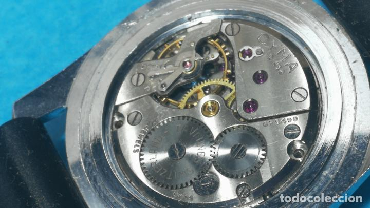 Recambios de relojes: RELOJ CYMA R-458, aunque funciona, atrasa, por tanto para reparar o restaurar - Foto 30 - 138997018