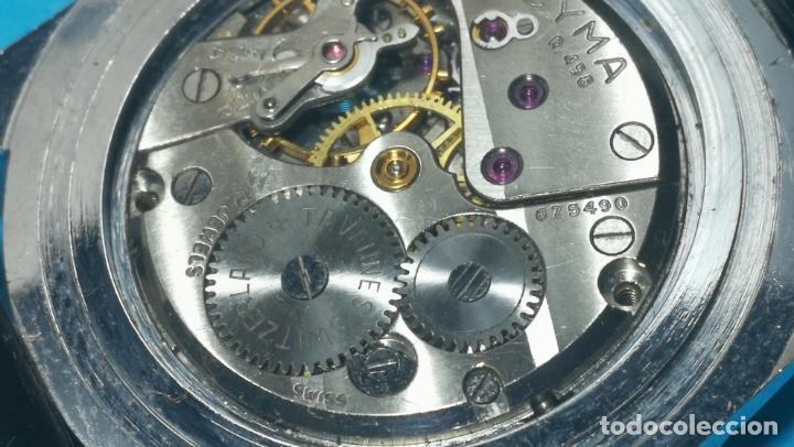 Recambios de relojes: RELOJ CYMA R-458, aunque funciona, atrasa, por tanto para reparar o restaurar - Foto 32 - 138997018