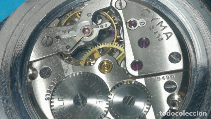 Recambios de relojes: RELOJ CYMA R-458, aunque funciona, atrasa, por tanto para reparar o restaurar - Foto 33 - 138997018