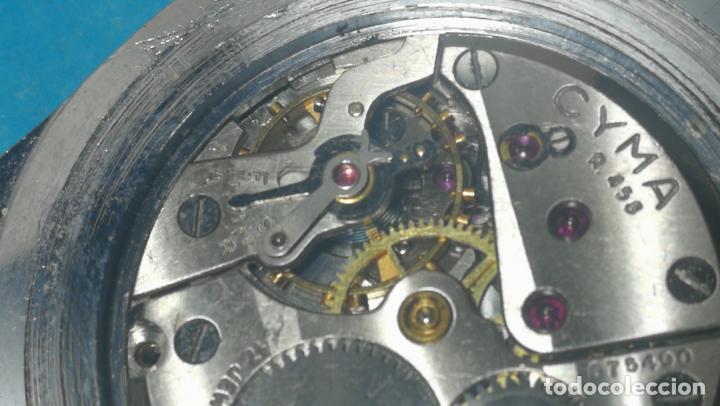 Recambios de relojes: RELOJ CYMA R-458, aunque funciona, atrasa, por tanto para reparar o restaurar - Foto 34 - 138997018