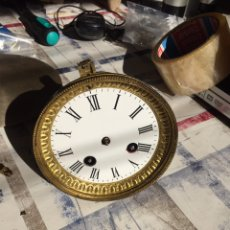 Recambios de relojes: MAQUINARIA RELOJ PARIS FRITZ MARTÍ ET FILS, 1889,. Lote 140948796