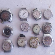 Recambios de relojes: LOTE DE 18 RELOJES DE MUJER MECANICOS M18. Lote 139086634