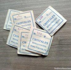 Recambios de relojes: LOTE 6 CRISTALES PARA RELOJES, RECAMBIO RELOJ (4). Lote 139229610