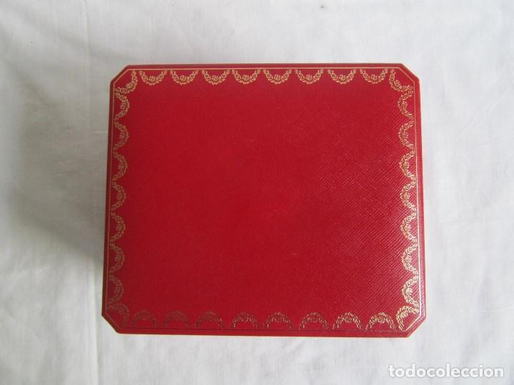 Recambios de relojes: Caja vacia para reloj de caballero Cartier Como nueva - Foto 2 - 139705498