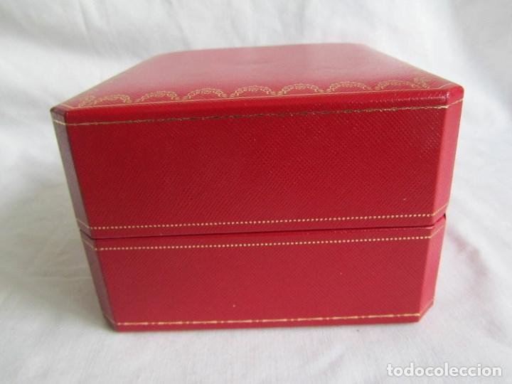 Recambios de relojes: Caja vacia para reloj de caballero Cartier Como nueva - Foto 7 - 139705498