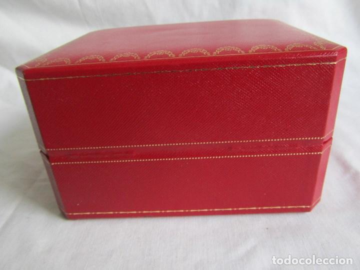 Recambios de relojes: Caja vacia para reloj de caballero Cartier Como nueva - Foto 8 - 139705498