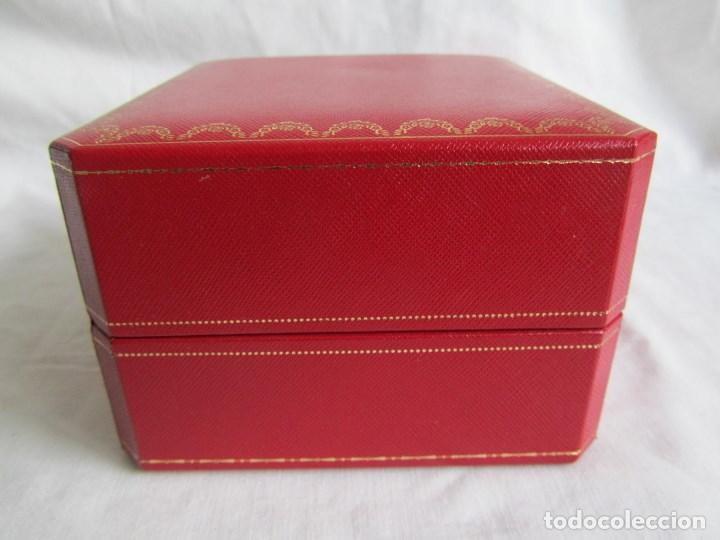 Recambios de relojes: Caja vacia para reloj de caballero Cartier Como nueva - Foto 9 - 139705498