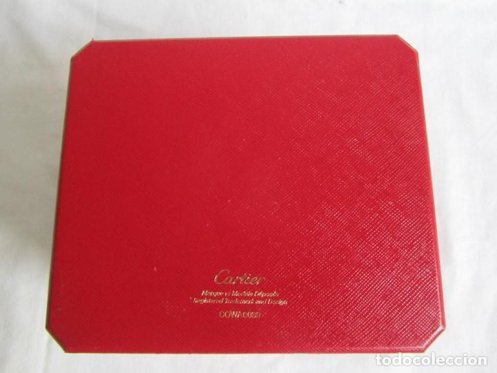 Recambios de relojes: Caja vacia para reloj de caballero Cartier Como nueva - Foto 10 - 139705498