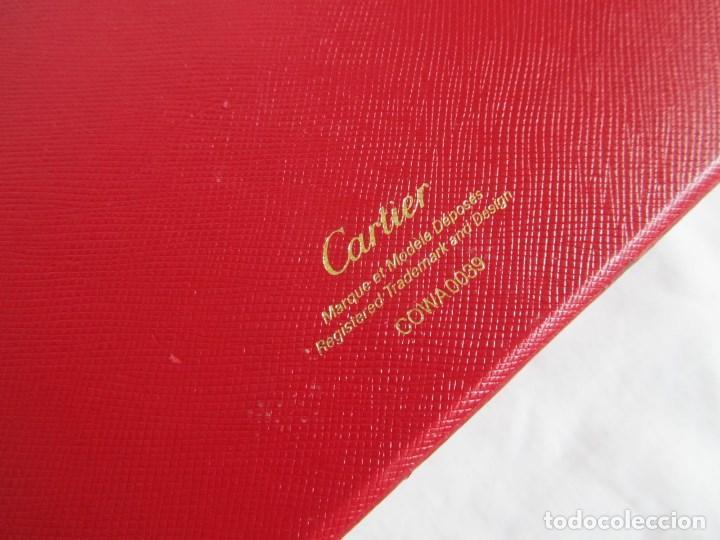 Recambios de relojes: Caja vacia para reloj de caballero Cartier Como nueva - Foto 11 - 139705498