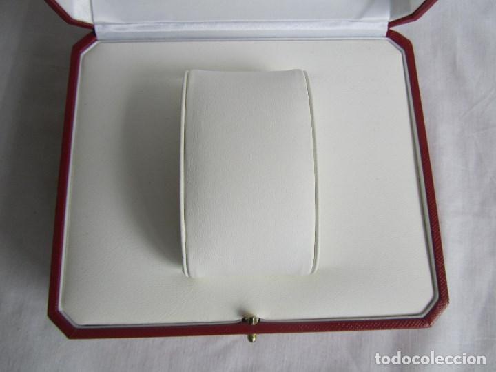 Recambios de relojes: Caja vacia para reloj de caballero Cartier Como nueva - Foto 14 - 139705498