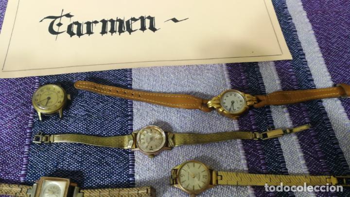 Recambios de relojes: Lote de 23 relojes están sin comprobar por tanto para reparar, repasar o piezas - Foto 28 - 140277198