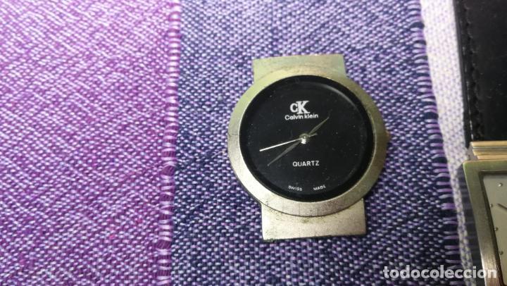 Recambios de relojes: Lote de 8 relojes VARIADOS están sin comprobar por tanto para reparar, repasar o piezas - Foto 5 - 140278422