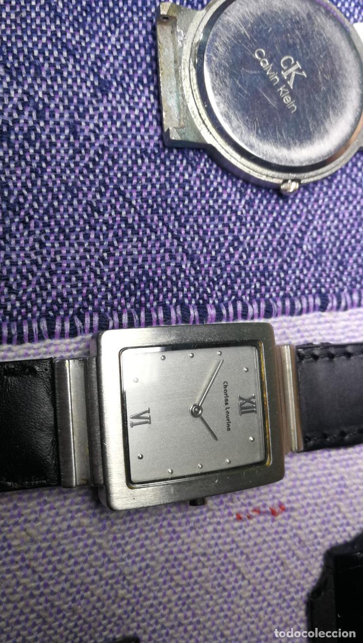 Recambios de relojes: Lote de 8 relojes VARIADOS están sin comprobar por tanto para reparar, repasar o piezas - Foto 7 - 140278422