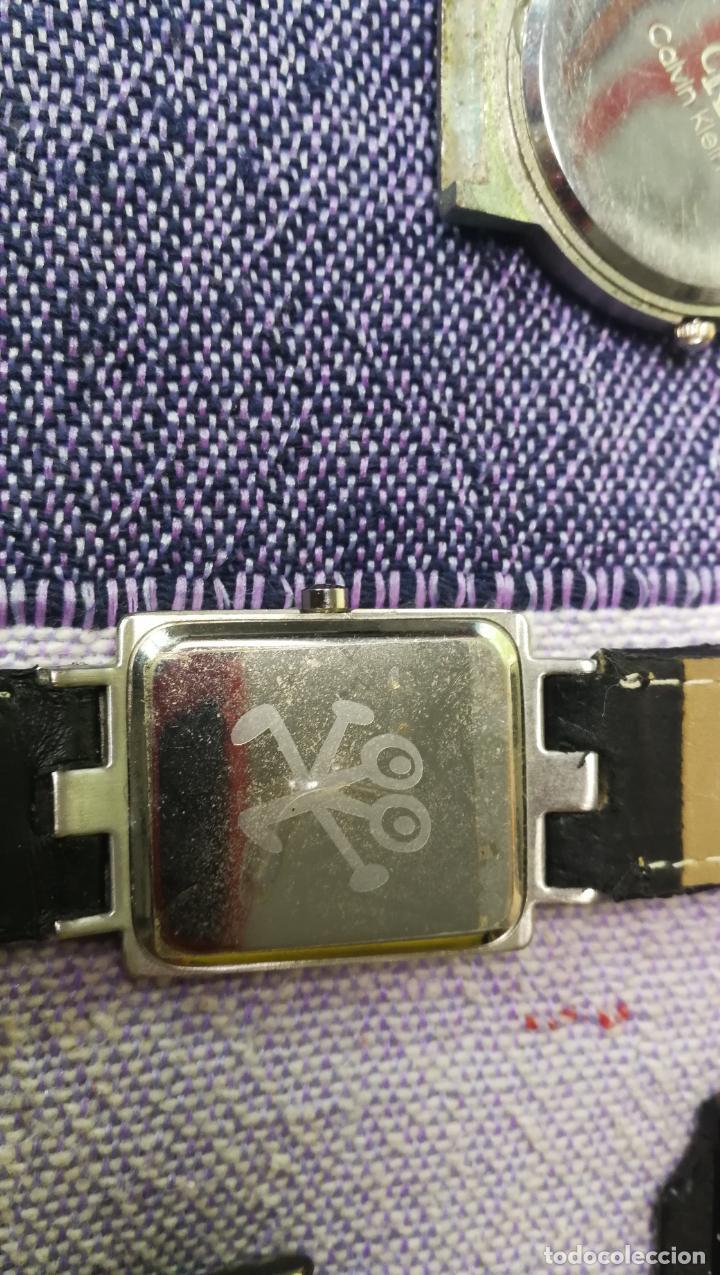 Recambios de relojes: Lote de 8 relojes VARIADOS están sin comprobar por tanto para reparar, repasar o piezas - Foto 8 - 140278422