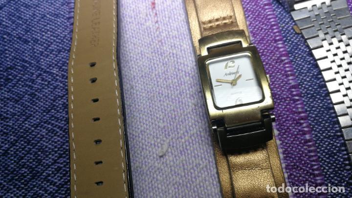 Recambios de relojes: Lote de 8 relojes VARIADOS están sin comprobar por tanto para reparar, repasar o piezas - Foto 11 - 140278422