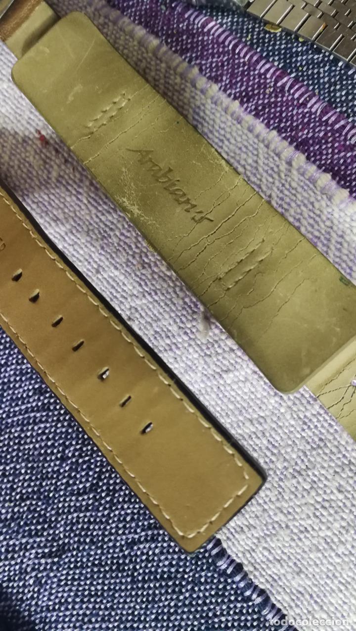 Recambios de relojes: Lote de 8 relojes VARIADOS están sin comprobar por tanto para reparar, repasar o piezas - Foto 12 - 140278422