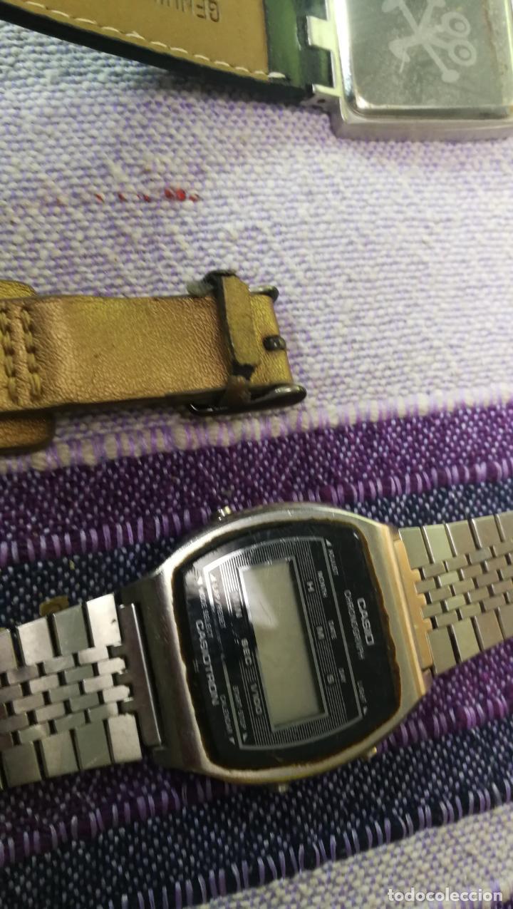 Recambios de relojes: Lote de 8 relojes VARIADOS están sin comprobar por tanto para reparar, repasar o piezas - Foto 13 - 140278422