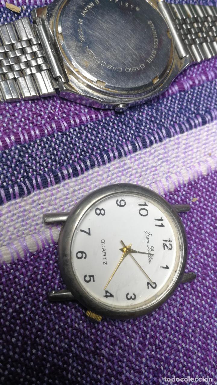 Recambios de relojes: Lote de 8 relojes VARIADOS están sin comprobar por tanto para reparar, repasar o piezas - Foto 17 - 140278422