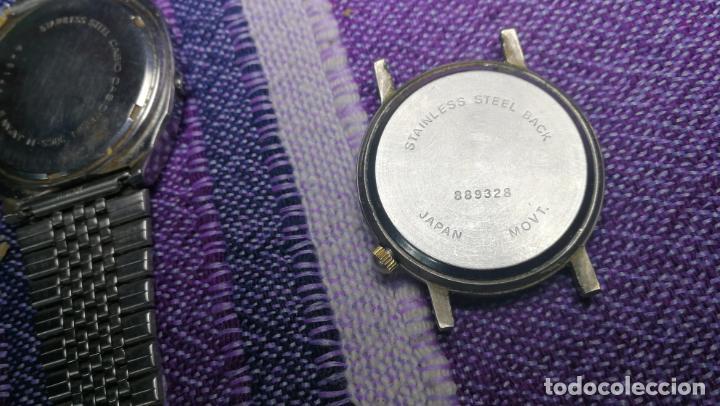 Recambios de relojes: Lote de 8 relojes VARIADOS están sin comprobar por tanto para reparar, repasar o piezas - Foto 18 - 140278422