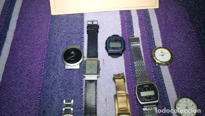 Recambios de relojes: Lote de 8 relojes VARIADOS están sin comprobar por tanto para reparar, repasar o piezas - Foto 21 - 140278422
