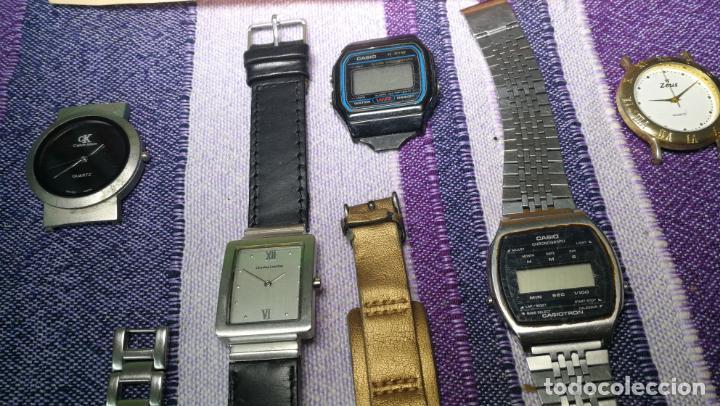 Recambios de relojes: Lote de 8 relojes VARIADOS están sin comprobar por tanto para reparar, repasar o piezas - Foto 22 - 140278422
