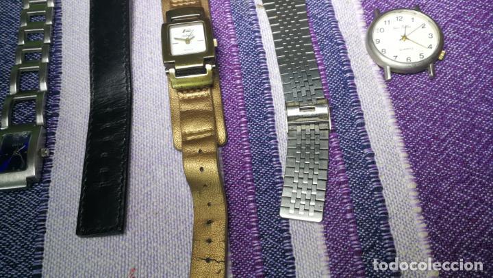 Recambios de relojes: Lote de 8 relojes VARIADOS están sin comprobar por tanto para reparar, repasar o piezas - Foto 25 - 140278422
